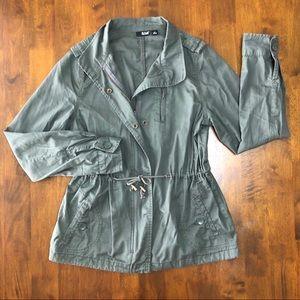a.n.a Army Green Utility Jacket